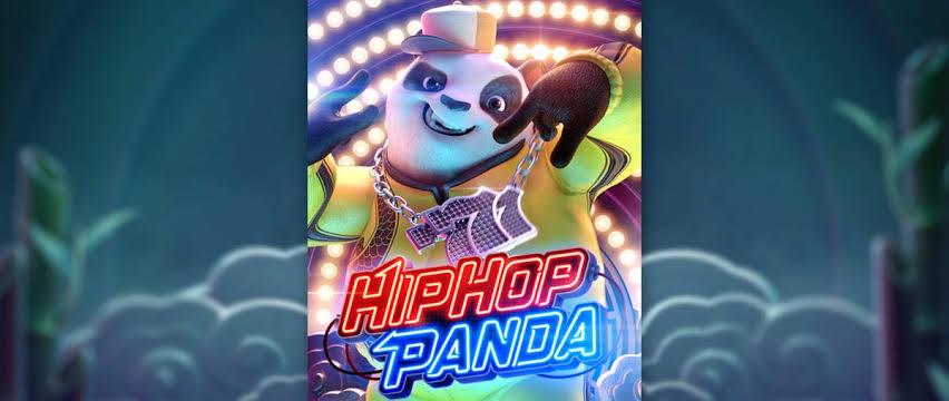 พนันHIPHOP PANDA เกมพนันสล็อตส์ออนไลน์ เกมที่โบนัสแตกง่ายที่สุด