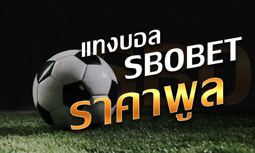 วิธีเล่นบอล1X2 ราคาพูล เดิมพันบอล1X2 เบื้องต้น ใน SBOBET